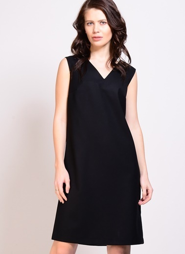 Limon Company LİMON COMPANY uzun elbise kadın 36 beden Siyah